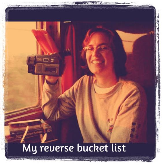 Reverse Bucket List - Amanda Kendle