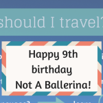 Not A Ballerina blog celebrates its 9th birthday