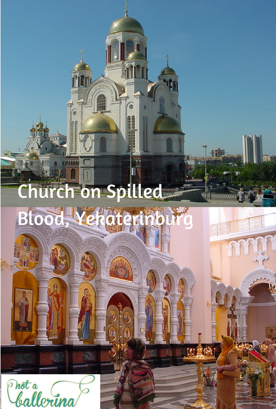 The Church on Spilled Blood in Yekaterinburg