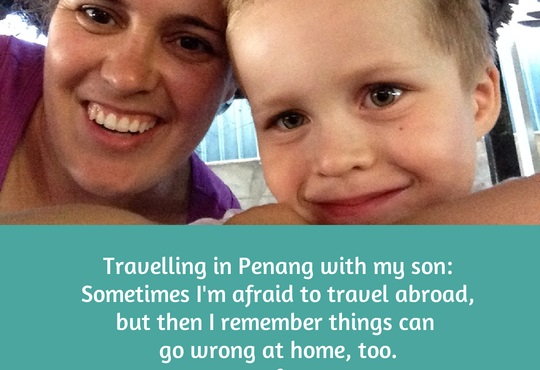 Are  you afraid to travel abroad with your kids?