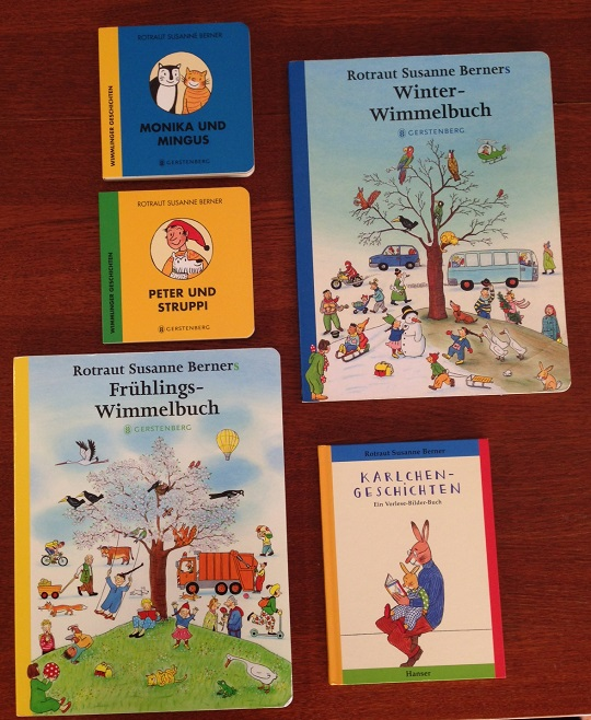 German books for babies by Rotraut Susanne Berner
