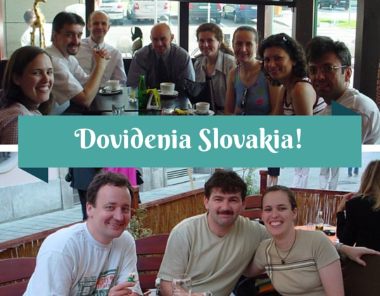 Saying goodbye to a country - Dovidenia Slovakia