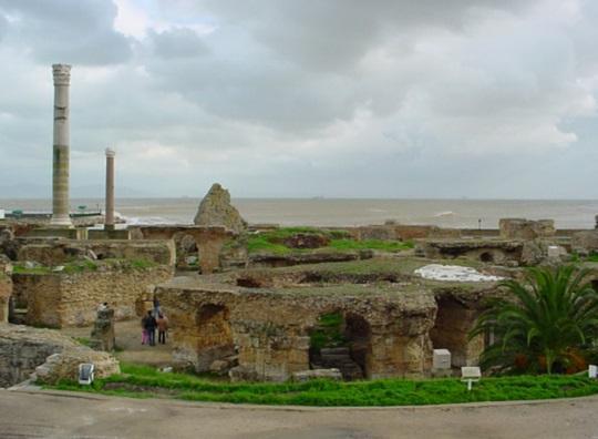 Antonin Bath ruins, Carthage, Tunisia
