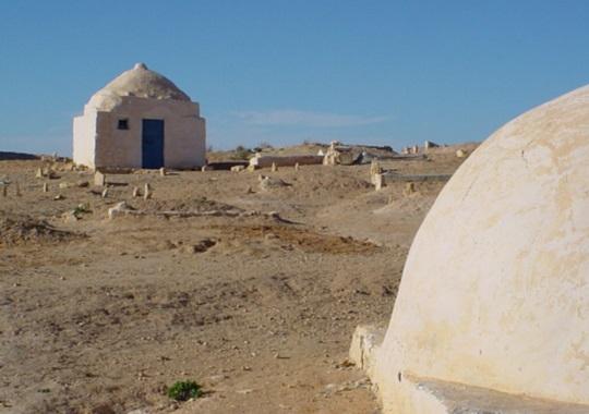Architecture in Matmata, Tunisia