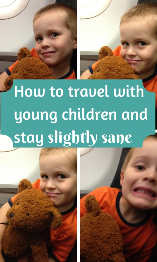 How to travel with young children and stay slightly sane