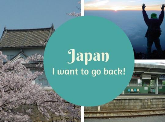 Five destinations I'd like to revisit: Japan