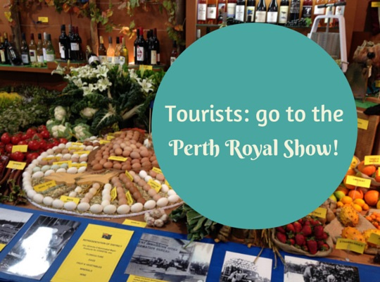 Visiting the Perth Royal Show, Western Australia