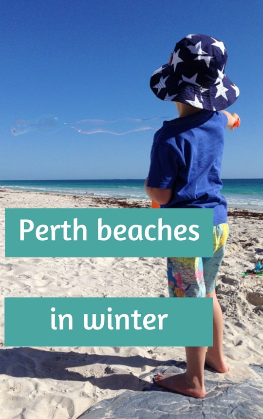 Perth beaches in winter